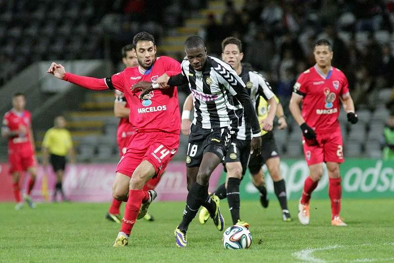 Nacional derrota Gil Vicente no último jogo da primeira volta