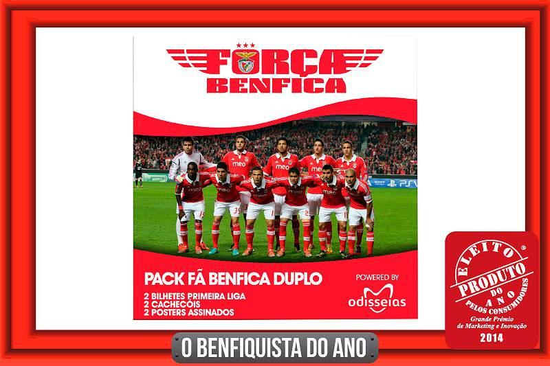 Ganhe bilhetes para um jogo do Benfica