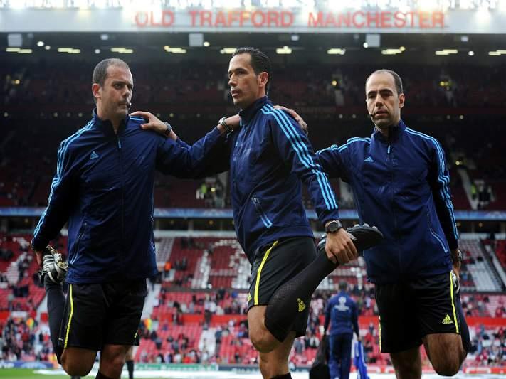Três equipas de arbitragem portuguesas nos jogos de qualificação