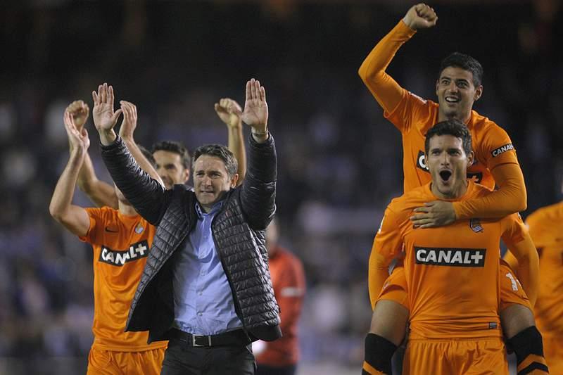 Póquer de Carlos Vela dá vitória à Real Sociedad sobre o Celta de Vigo