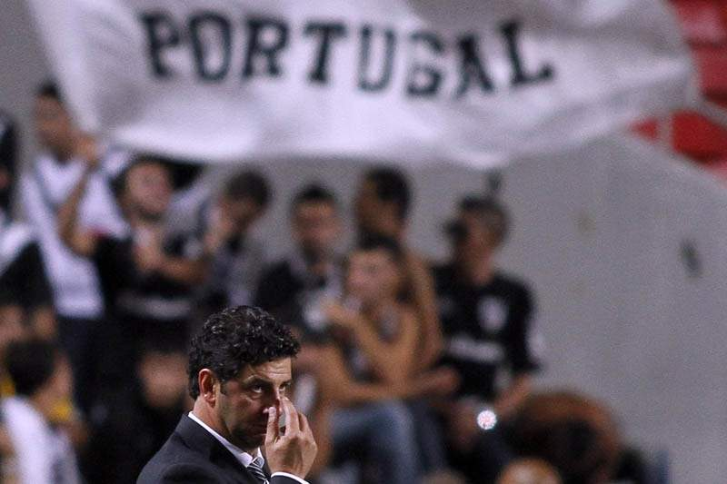 Rui Vitória espera triunfar sobre o Beira-Mar