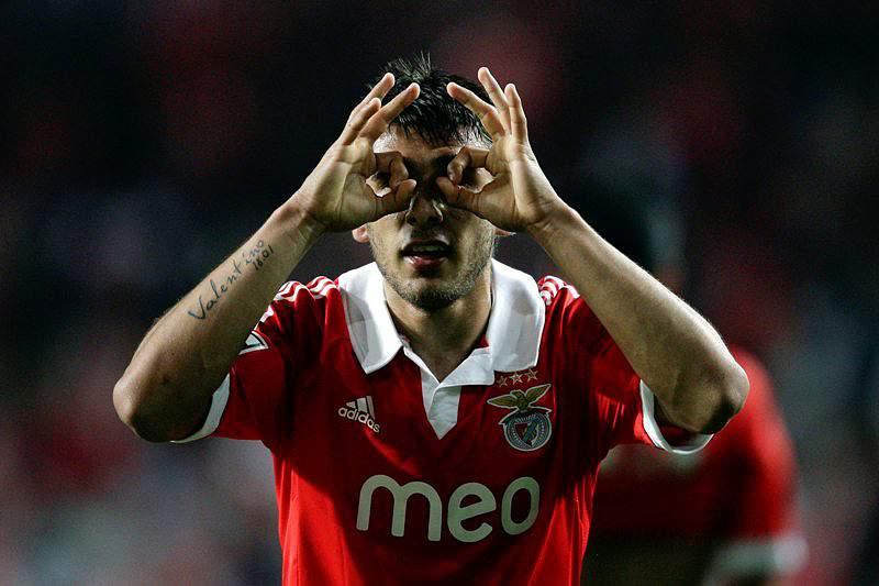 Salvio orgulhoso de vestir a camisola do Benfica