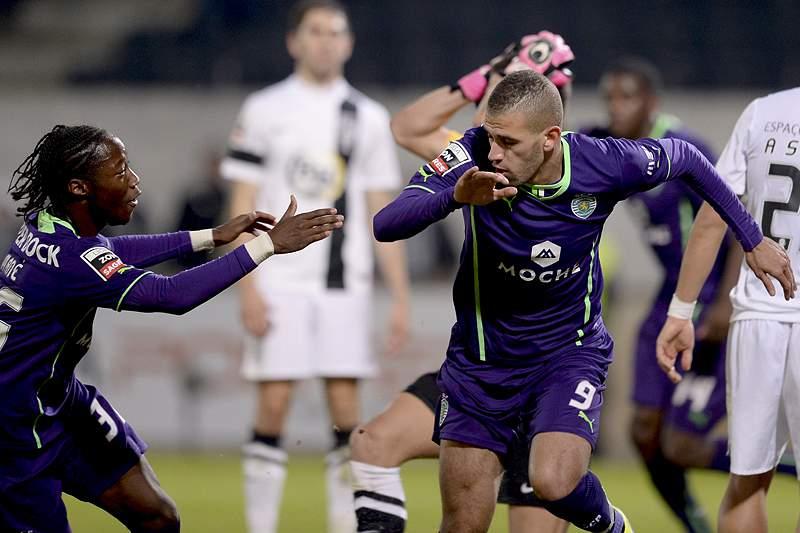 Slimani teve de entrar para dar a vitória ao Sporting