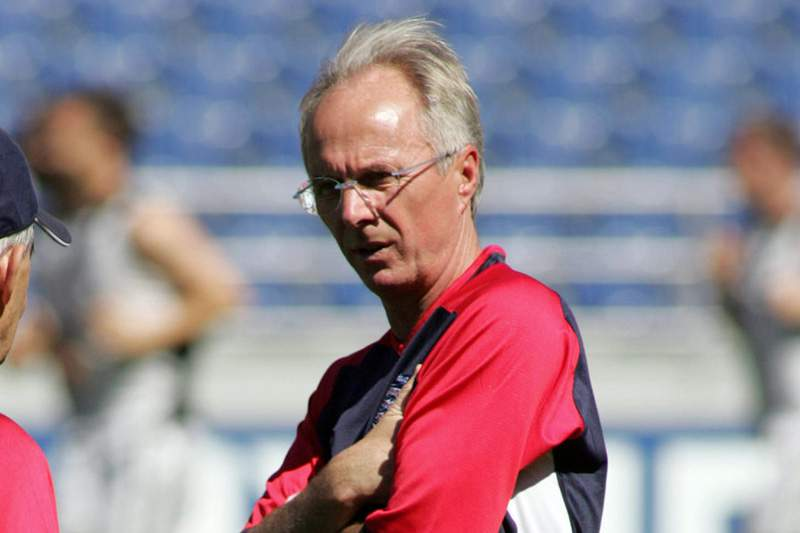 Eriksson está arrependido de ter recusado convite em 2008