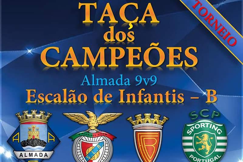 Benfica e Sporting em torneio inovador em Almada