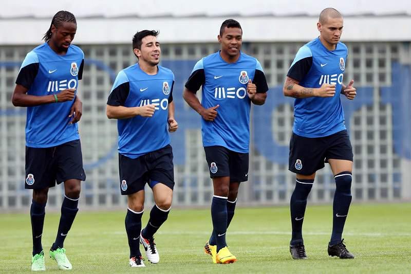 FC Porto inicia preparação do jogo contra o Atlético