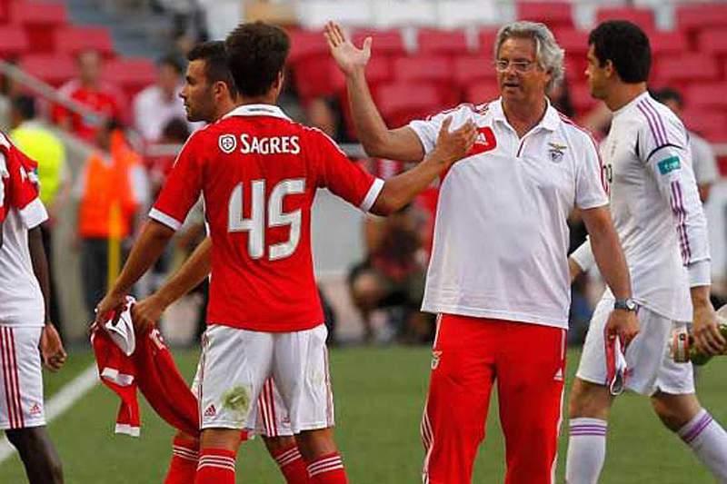 Benfica B empata com o Sporting da Covilhã perto do final do encontro