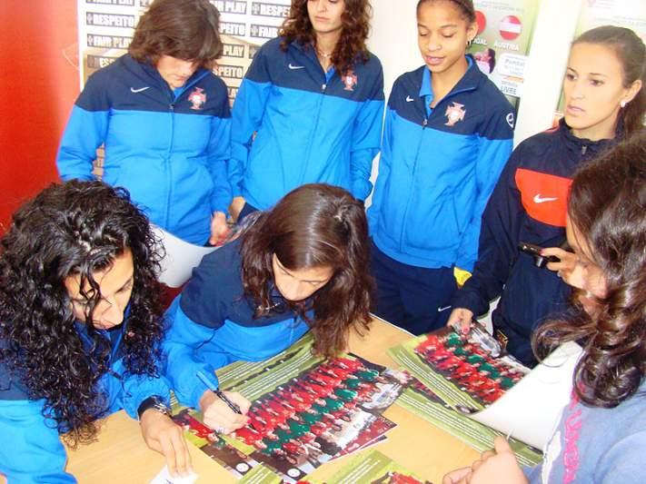 Seleção feminina prepara jogo com a Dinamarca