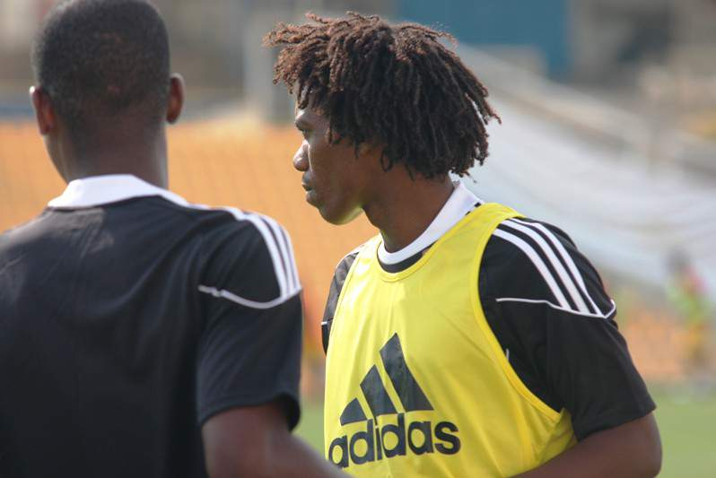 Treino da seleção de Angola
