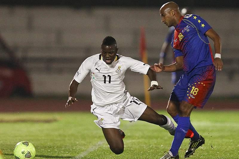 Cabo Verde perde amigável com o Gana