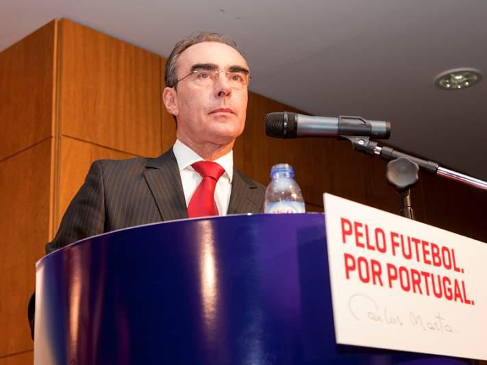 Carlos Marta em total apoio a Gomes