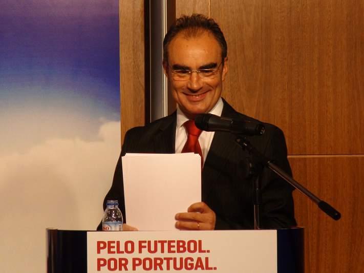 «Terei muito gosto em contar com Fernando Gomes»