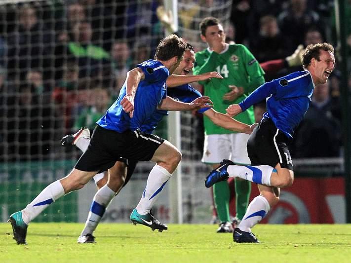 Estónia será o primeiro país a jogar com todos os rivais da UEFA