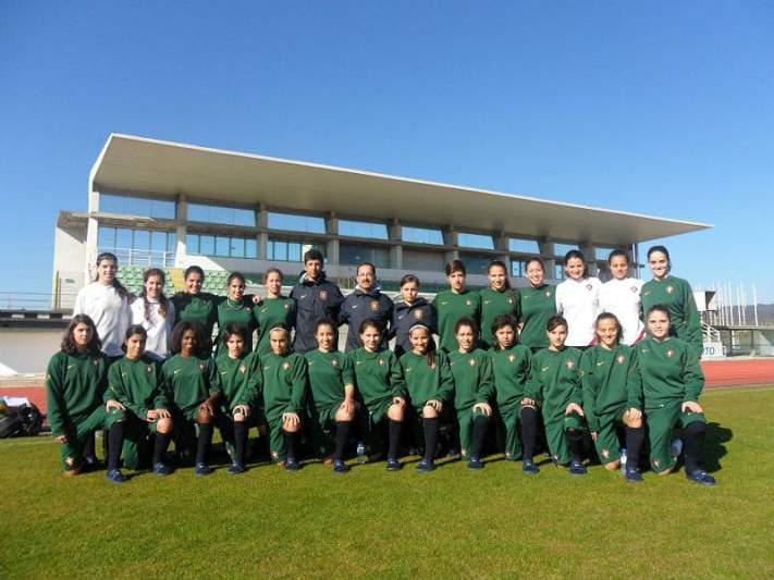 Qualificação é «o momento mais alto» do futebol feminino português