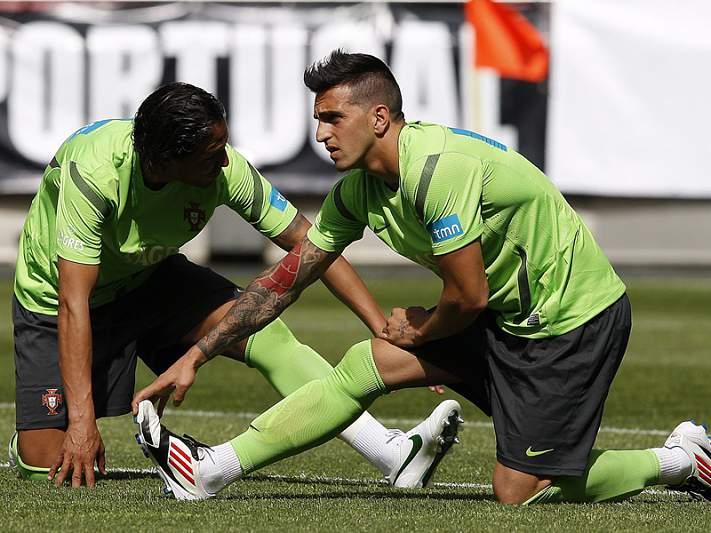 Miguel Lopes realizou o primeiro treino