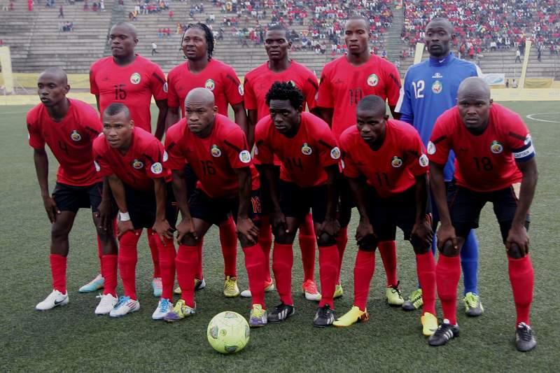 Mambas empatam a uma bola com Swazilândia