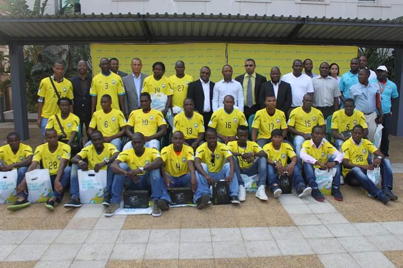 Mcel premeia Moçambique pela qualificação ao CHAN2014