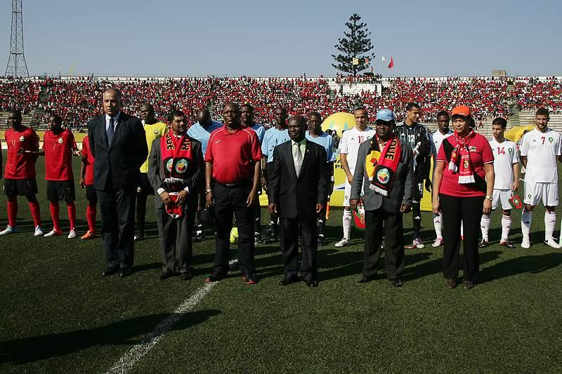 Moçambique prepara Marrocos em Portugal já com Paíto