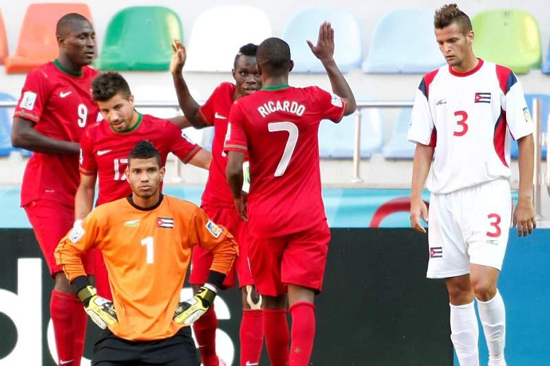 Gana é o adversário de Portugal nos oitavos de final