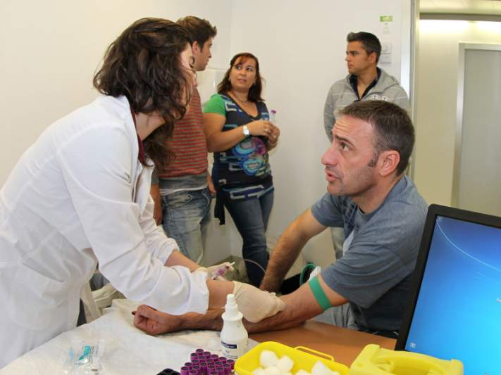 Paulo Bento participa na campanha de dadores de medula