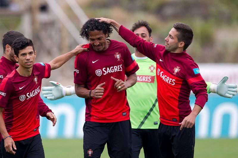 Portugal cumpre último treino antes da Suécia
