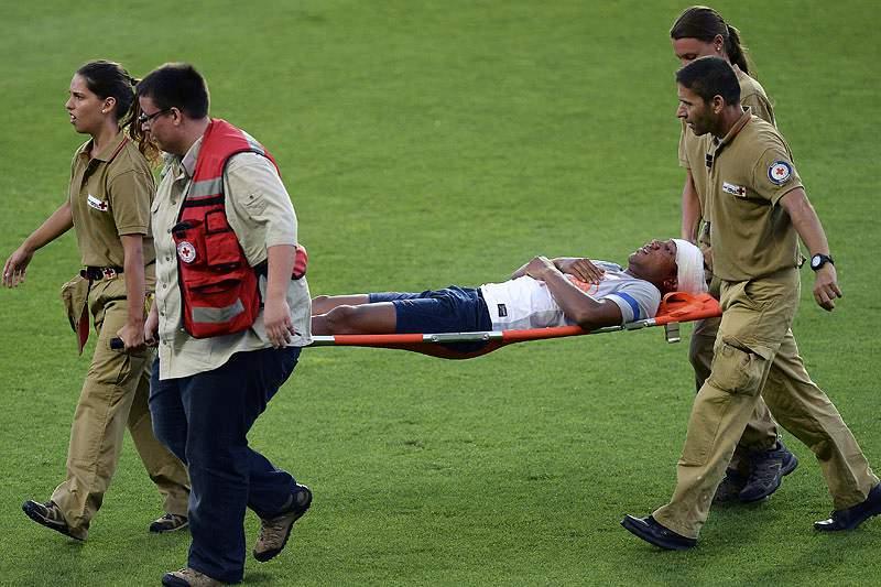 Guzman lesiona-se e fica de fora para o jogo com Portugal