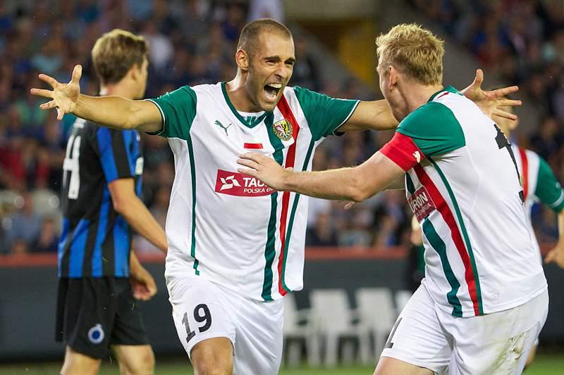 Marco Paixão marca golo da vitória do Slask Wroclaw frente ao Zaglebie Lubin