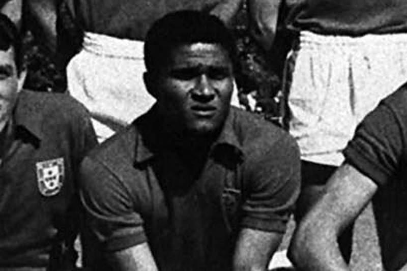 Eusébio, o antecessor de Figo e Cristiano Ronaldo