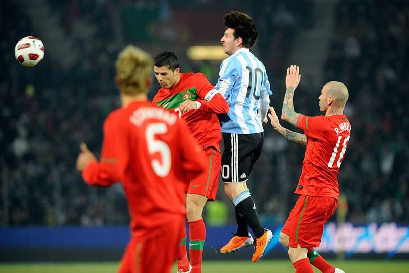 Cristiano Ronaldo e Lionel Messi, o desafio supremo