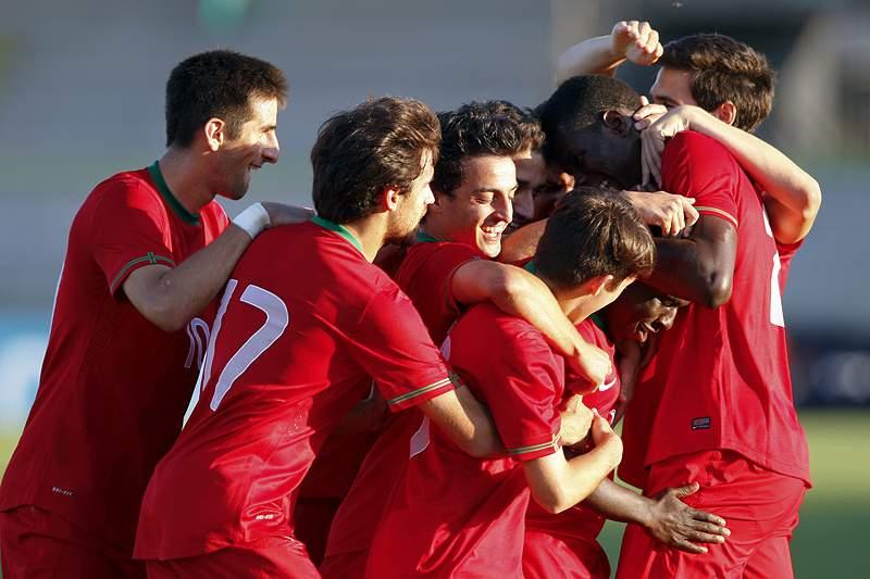 Sub-21 de Portugal vencem Croácia por 2-0