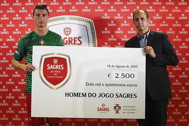 Ronaldo eleito Homem do Jogo