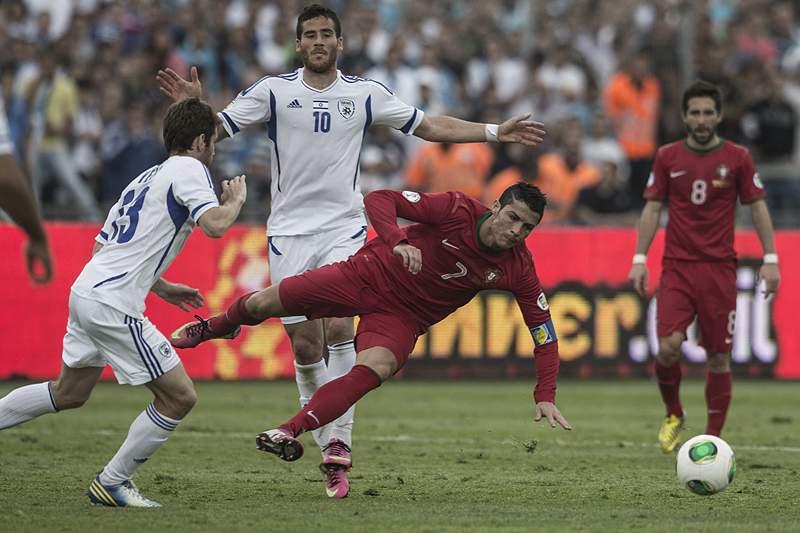 Só dá Portugal frente a Israel