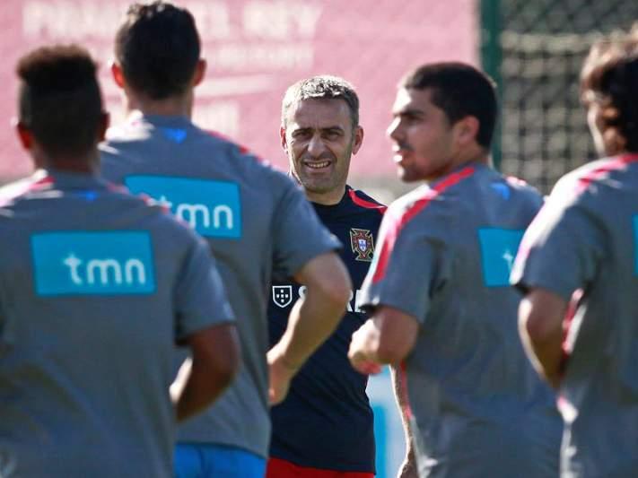 Seleção portuguesa concentra-se em Cascais e treina no Estoril