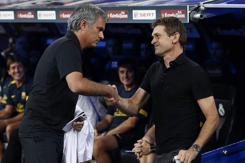 Real Madrid ao lado de Tito Vilanova