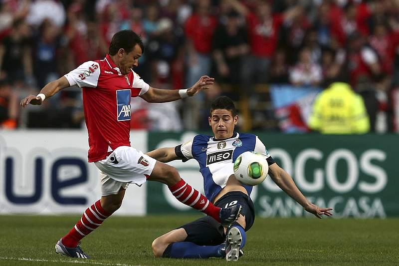Confrontos na bancada do SC Braga