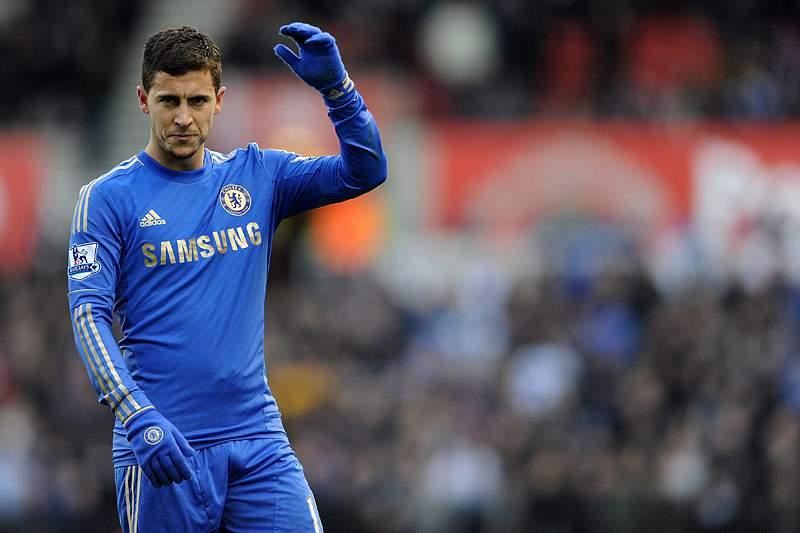 Eden Hazard suspenso por três jogos