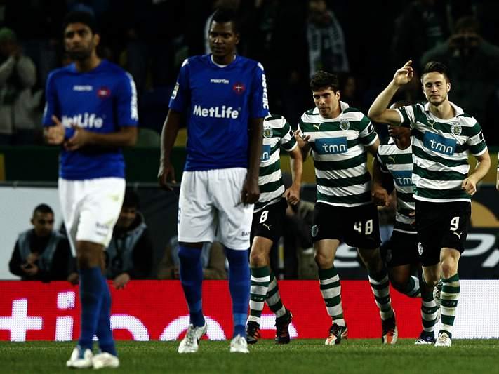 Aliança holandesa apura Sporting na Taça