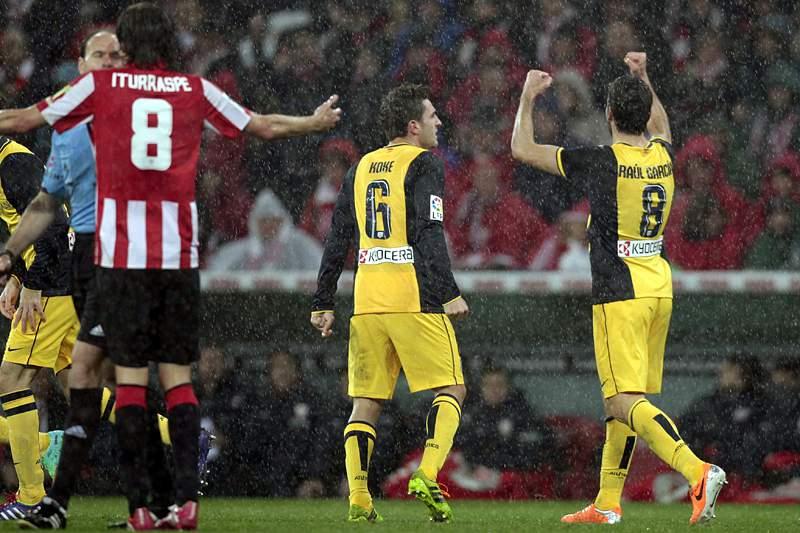 Atlético do Madrid está nas meias-finais