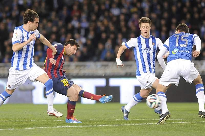 Barcelona disputa final com Real Madrid