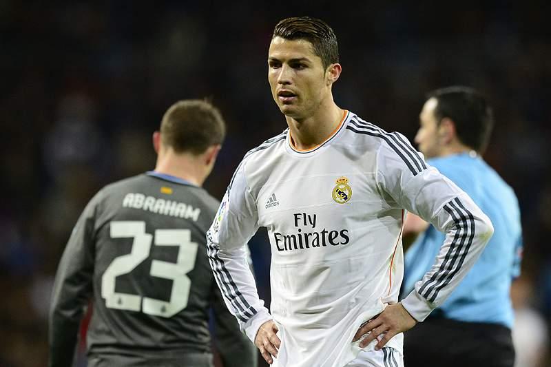 Ronaldo frustrado