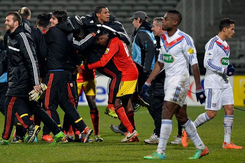 Lyon eliminado por equipa da 2.ª divisão