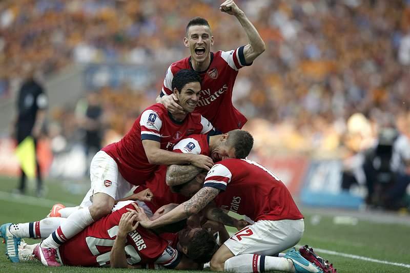 Arsenal vence Taça de Inglaterra