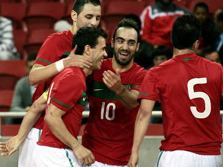 Portugal defronta a Bélgica em jogo de preparação