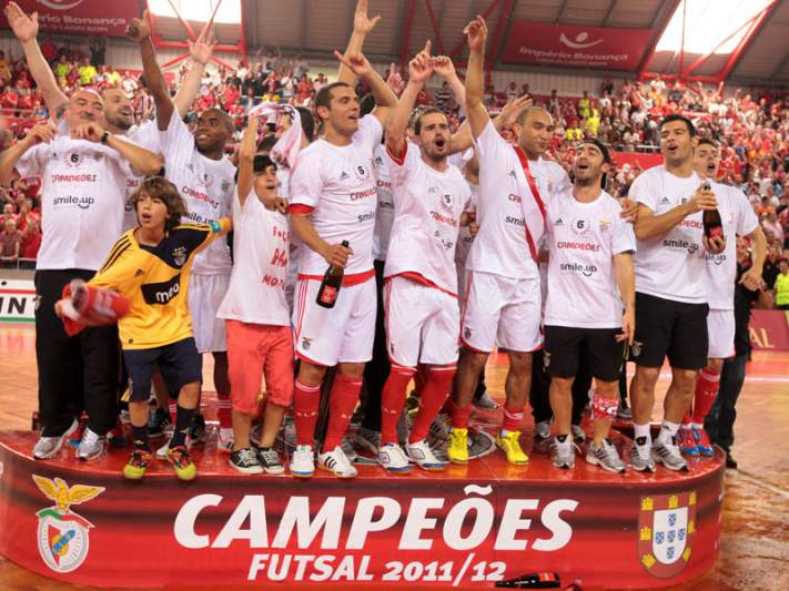 Benfica campeão de futsal