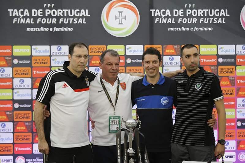 Treinadores confiantes antes nas meias-finais da Taça de Portugal