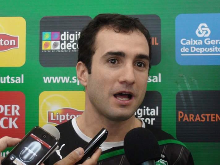 «Quero terminar a carreira no Sporting»