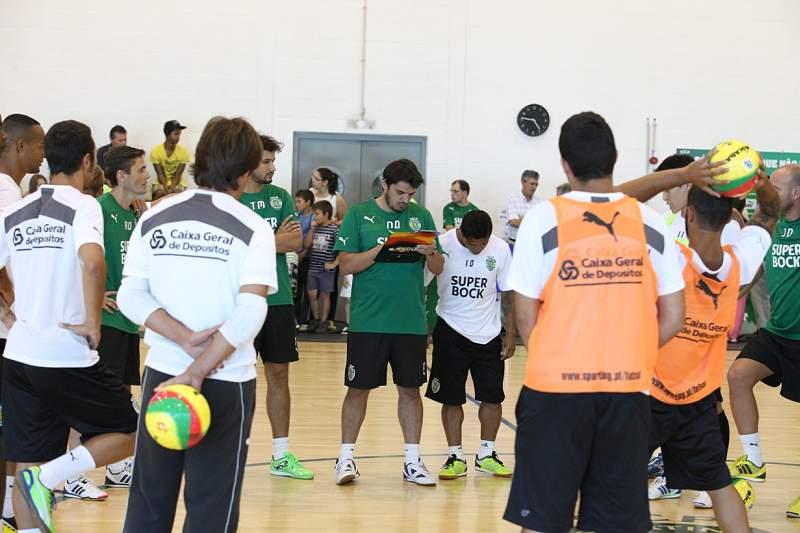 Sporting parte para a nova época com o sonho da UEFA Futsal Cup