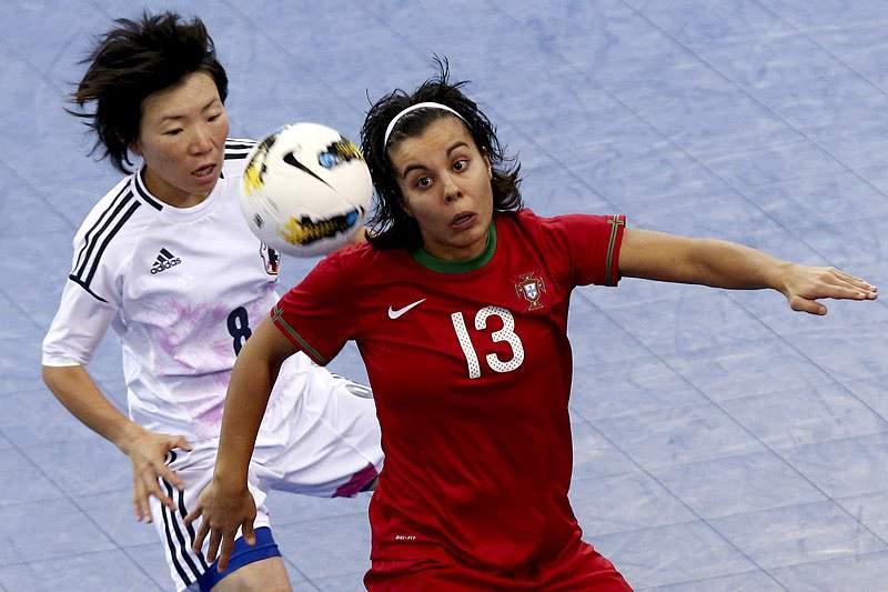 Portugal vence Japão na estreia no Mundial de futsal feminino