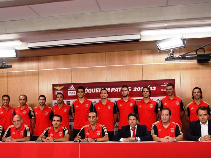 Benfica apresenta-se para época 2011/2012