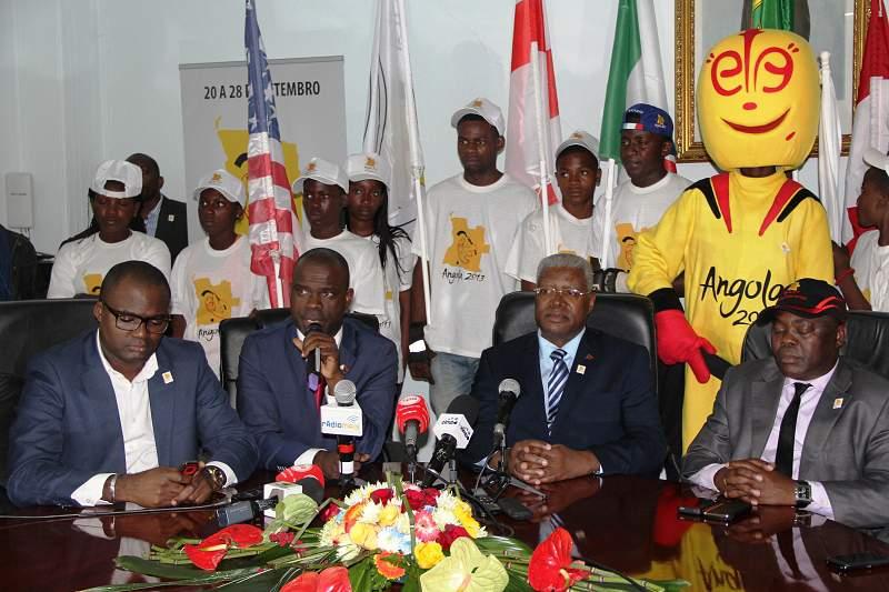 Angola pronta para o Mundial